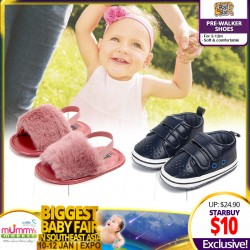 Raf Raf Baby Prewalkers Shoes for  3-12M (Over 50 Designs AVAILABLE!!)  *ADDITIONAL DISCOUNT for EARLY BIRD Specials!!