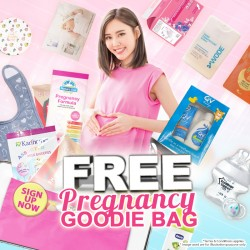 FREE 1,500 Goodies Bags For Expecting Mummies!