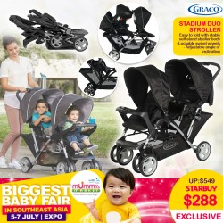 Graco Stadium Duo Tandem Stroller (Twin Stroller)