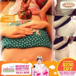 AllTenTic Postnatal Jamu Massage