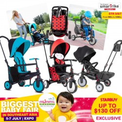 Smart Trike 6 in 1 STR3 Folding Trike *$199 ONLY with SAVE MORE Coupon!