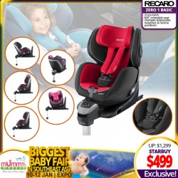 Recaro Zero 1 Basic Asia *ADDITIONAL $40 OFF for EARLY BIRD Specials!!