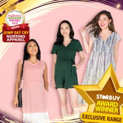 (2019 AWARD WINNER) JUMP EAT CRY - Most Fashionable Nursing Apparel