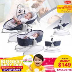 (NEW 2019 VERSION) TinyLove 3-in-1 Rocker Napper Luxe