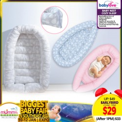 Babylove Baby Nest Cozy Sleep *EARLY BIRD SPECIAL!!!