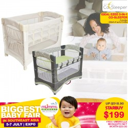 Arms Reach Ideal EZEE 3 in 1 Co-Sleeper Playpen FREE Umbrella Mosquito Net *$159 ONLY with SAVE MORE Coupon!