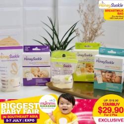 Honeysuckle Breastmilk Bag (Any 2 for $29.90)