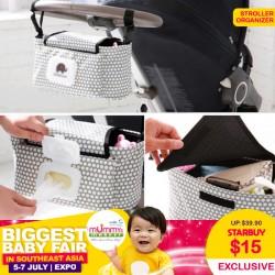 Multipurpose Stroller Organizer