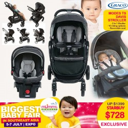 GRACO Travel System Modes Select 3-In-1 (Stroller + Carseat)