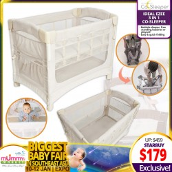 Arms Reach Ideal EZEE 3 in 1 Co-Sleeper Playpen *ADDITIONAL $20 OFF with SAVE MORE COUPON!!