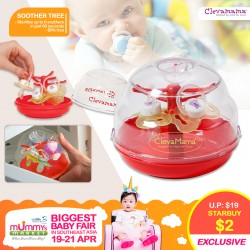 Clevamama Soother Tree for $2 ONLY!!