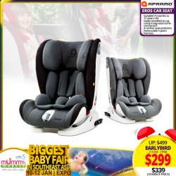 Apramo EROS Child Carseat + FREE Carseat Accessories (Worth UP TO $69.90) *EARLY BIRD SPECIAL!!!