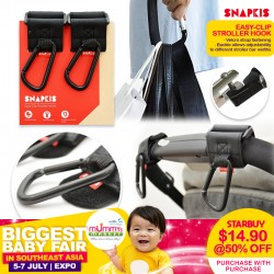 Snapkis Easy-Clip Stroller Hook 50% with Purchase of Snapkis Carseat (ASST)!!