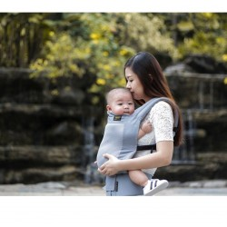Mimosa Airplush Ergonmic Baby Carrier (URBAN GREY MESH) FREE Aircool Infant Insert