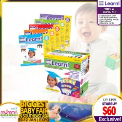 ILC Your Baby Can Learn/Discover/Read - 4 level kit!