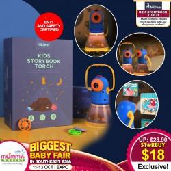 Mideer Kids Storybook Torch Toy