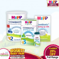 HiPP Combiotic Organic Follow On Milk All Range (Bundle of 3)