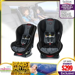 Britax Emblem US Convertible Carseat