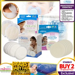 Dr Brown Disposable Bra Pad (30pcs) Bundle of 2 Boxes