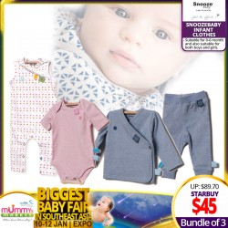 Snoozebaby Infant Clothes (Bundle of 3) - MIX AND MATCH