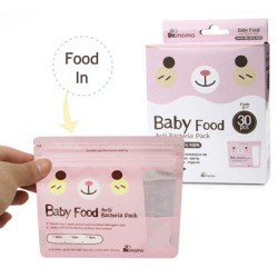 Dr Mama Baby Food Anti-Bacterial Storage Bags (Bundle of 2 or 5 Boxes are Available)