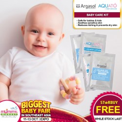 Free Sample (Argasol + Aquato Baby Care Kit) skincare