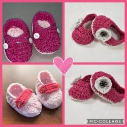 Take EA Crochet Baby Shoes