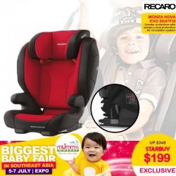 Recaro Monza Nova Evo Seatfix Carseat