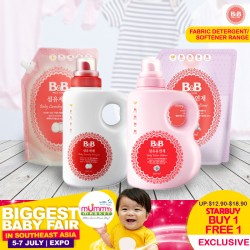 B&B Fabric Detergent Bottle / Cap Refil (1500ml)