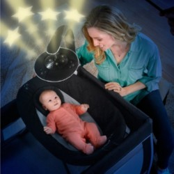 Chicco Lullaby Glow Playpen (Genesis) + Free Gift worth $39.90!