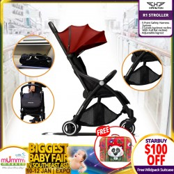 Hamilton R1 Stroller FREE Okiedog Wildpack Suitcase (WORTH $59.90) PWP Infant Carseat is Available!
