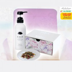 WHITETREE Hair Loss Care Set (Beauty Blend Tea & Shampoo)