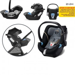 Cybex Aton 5 Carseat (Asst Colors Available)