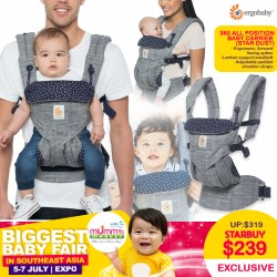 Ergobaby Omni 360 Baby Carrier (Star Dust)