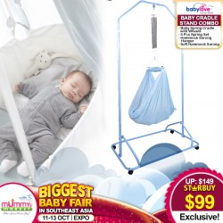 Babylove Cradle Stand Combo