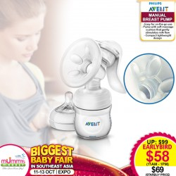Philips Avent Manual Breastpump (Additional $11 OFF For EARLY BIRD SPECIAL*)