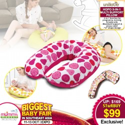 Unilove Hopo 3-in-1 Maternity Multi Support Pillow