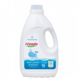 Friendly Organic Baby Liquid Laundry Detergent Perfume Free (1L / 2L) BUY 1 GET 1 FREE!!