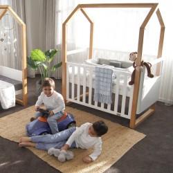 Babyhood Kaylula Mila Baby Cot FREE AERO Breathe Eze Fibre Mattress (1295 * 690mm) FREE Delivery + Assembly!!