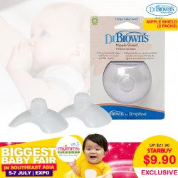 Dr Brown Nipple Shield (2-pack)
