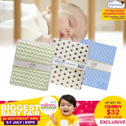 BabyDream Fitted Sheet for Playpen (Bundle of 2)