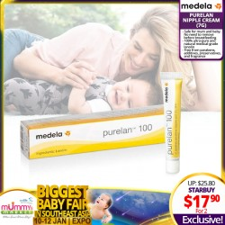 Medela Purelan Nipple Cream 7g Bundle of 2 for $17.90 ONLY!
