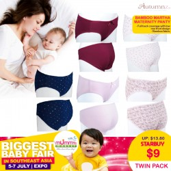 Autumnz Bamboo MARTHA Maternity Panty (Twin Pack)