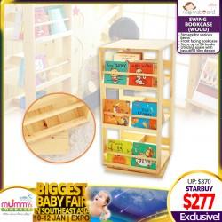 Momsboard Wooden Swing Bookcase