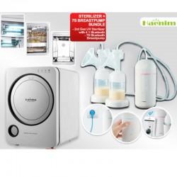 Haenim 3rd Gen UV Sterilizer + 7S Bluetooth Breastpump Bundle + Free Gifts