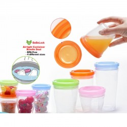 BeBeLock Airtight Containers