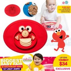 EzPz Sesame Street Elmo Mat *Limited Edition