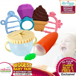Ange Assorted Weaning / Teething Accessories
