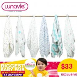 *NEW LAUNCH Lunavie Multipurpose Organic Bamboo Swaddle