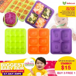 BeBeLock Silicon Tok Tok (Comes with Lid)